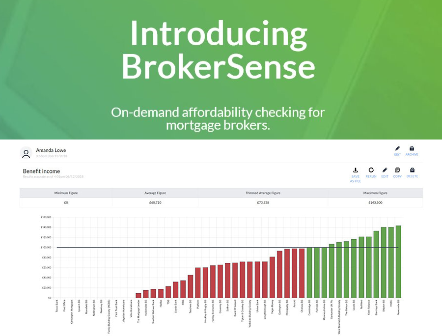 Introducing BrokerSense - On-demand affordability checking for brokers